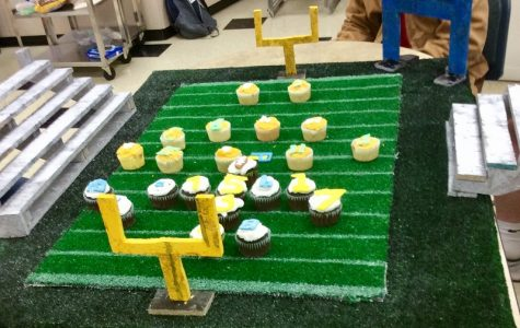 Cupcake Wars are a Touchdown for Creative Foods Class
