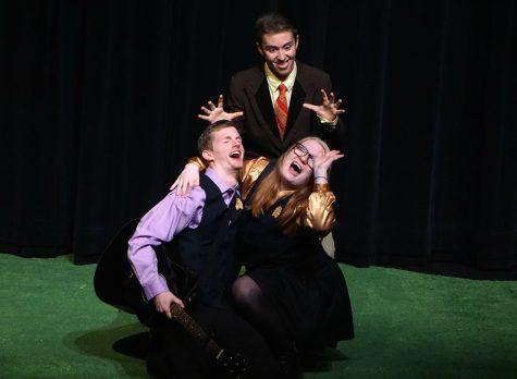 The Clumsy Custard Horror Show