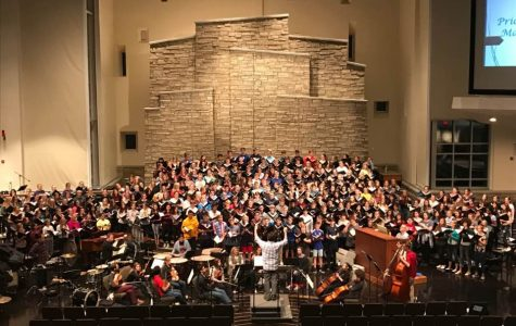 The PLHS Choir puts the Master in Masterwork